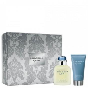 D&G Light Blue Pour Homme set (75ml M+75ml A/Shave Balsam ) M