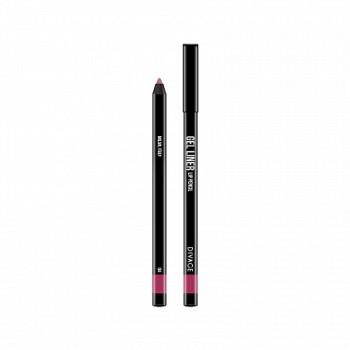 DIVAGE карандаш д/губ гелевый Gel Liner №03 бордо