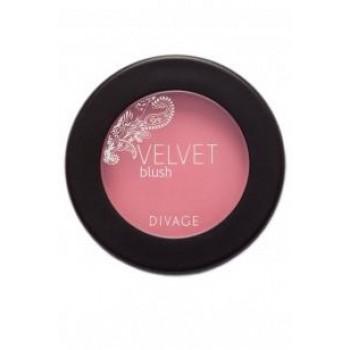 DIVAGE румяна комп. Velvet 8701  бежево-розовый