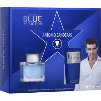 Antonio Banderas Blue Seduction set (50ml M+75ml A/Shave Balsam) M