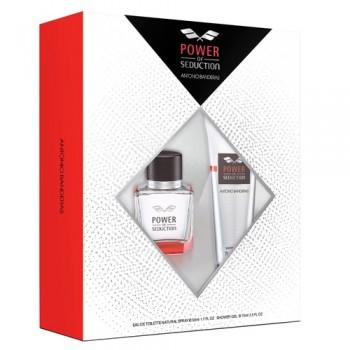 Antonio Banderas Power of Seduction set (50ml M+75ml Shower gel) M