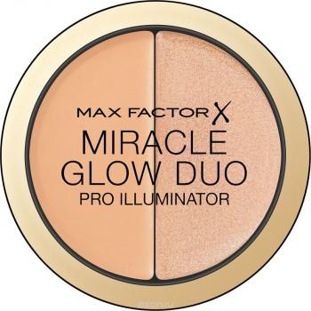 MAX FACTOR кремовый хайлайтер Miracle Glow Duo 30