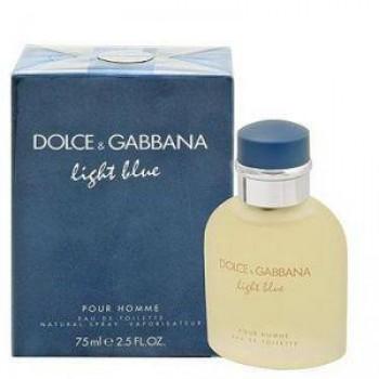D&G Light Blue Pour Homme edt 75ml