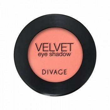 DIVAGE тени д/век Velvet 7321 абрикос