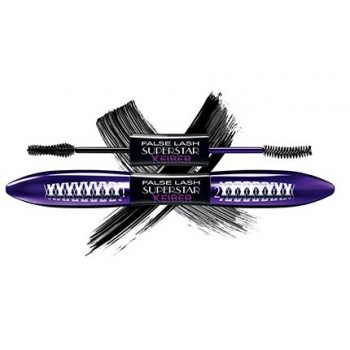 LOREAL тушь Double FALSE LASH Superstar X FIBER черная