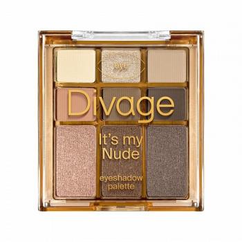 "DIVAGE палетка теней д/век It""s my nude"