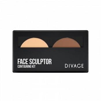 DIVAGE палетка д/лица Face Sculptor