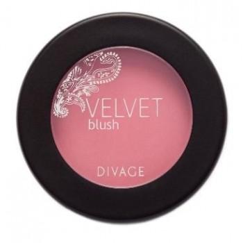 DIVAGE румяна комп. Velvet 8706 бронза