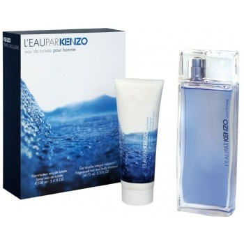 KENZO L'eau Par set (edt 30ml M +75ml SH/gel) M